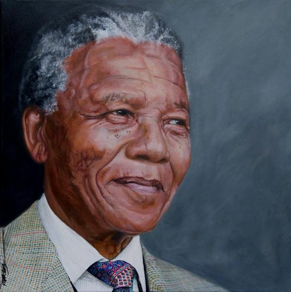 Nelson Mandela by DavidVigor